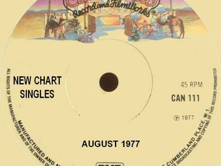 Chart New Entries for August 1977