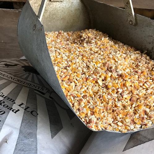 Coarsely Cracked Non-GMO Corn