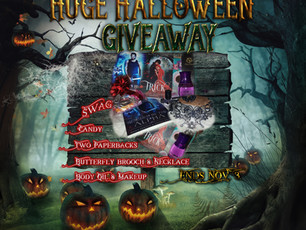 Huge Halloween Giveaway