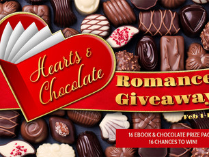 Hearts & Chocolate Valentine's Romance Giveaway  February 1-18