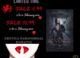 Valentine's Day Promo deal for Revenge