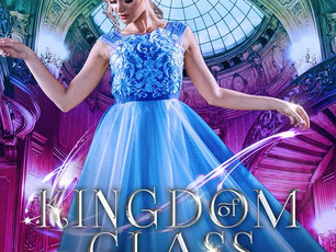 Surprise! Cover reveal for Kingdom of Glass & Ashes