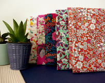 Five tana lawn fabric choices for the 2019 - 2020 Bunny Bosworth colection