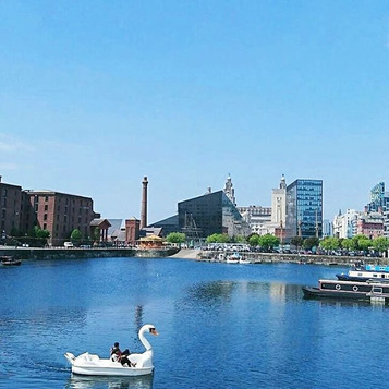 Liverpool Waterfront at Salthouse Dock