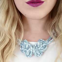 Mortimer Silhouette Eight Knot Necklace