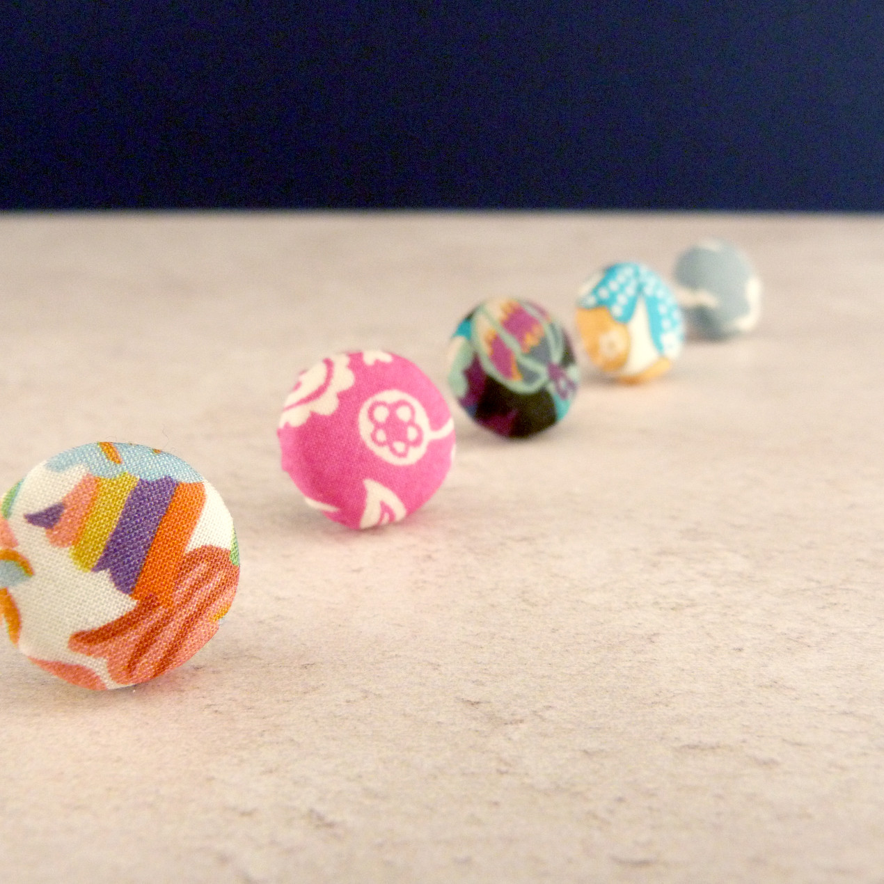Colourful Stud Earrings are a great favour for your bridal party and bring a splash of colour to your Zoom celebration