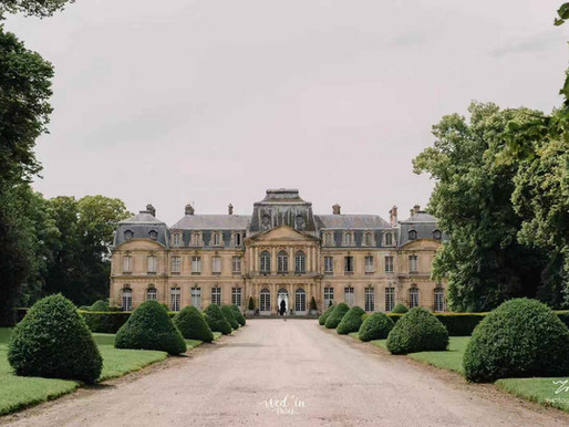 Wed'in Paris | 一场位于法国巴黎的梦幻城堡婚礼