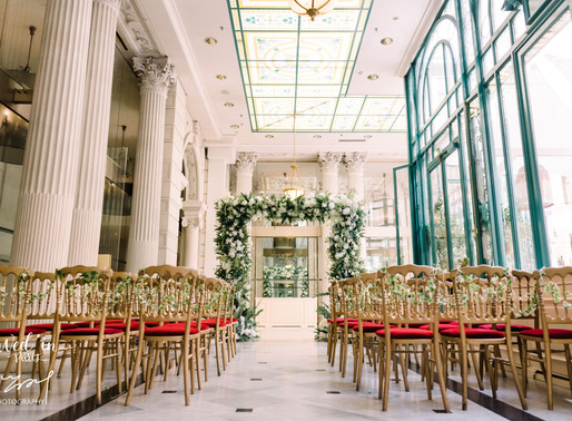Wed'in Paris | 法国巴黎Westin威斯汀酒店婚礼——唤起你的Golden Love
