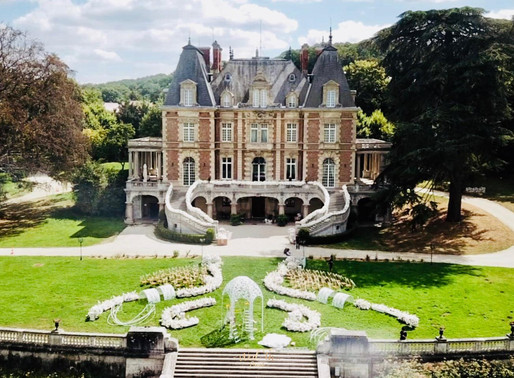Wed'in Paris | 法国美式复古的油画风城堡婚礼
