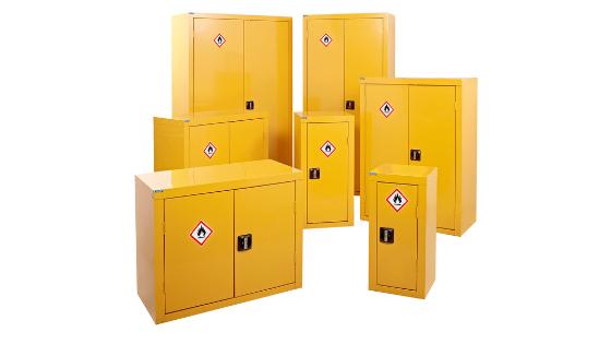 Hazardous cupboard