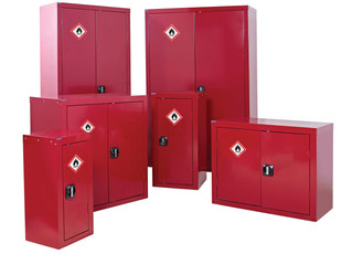 Flammable cabinets and Health and safety.