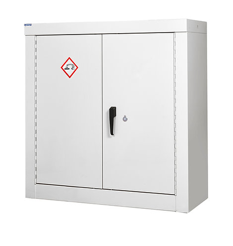 Acid & Alkali Security Cupboard - H1200 x W1200 x D460mm, 2 Shelves