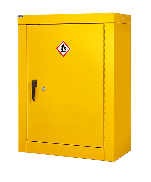 Hazardous Substance Security Cabinets - H1200 x W900 x D460mm, 2 Shelves