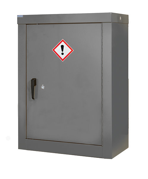 CoSHH Security Cupboard - H1200 x W900 x D460mm, 2 Shelves