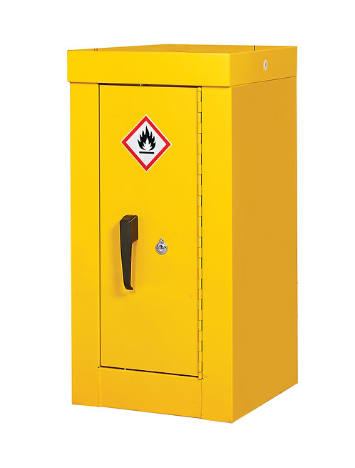 Hazardous Substance Security Cabinets - H900 x W460 x D460mm, 1 Shelf