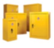 Hazardous Security Cupboards [Group Shot