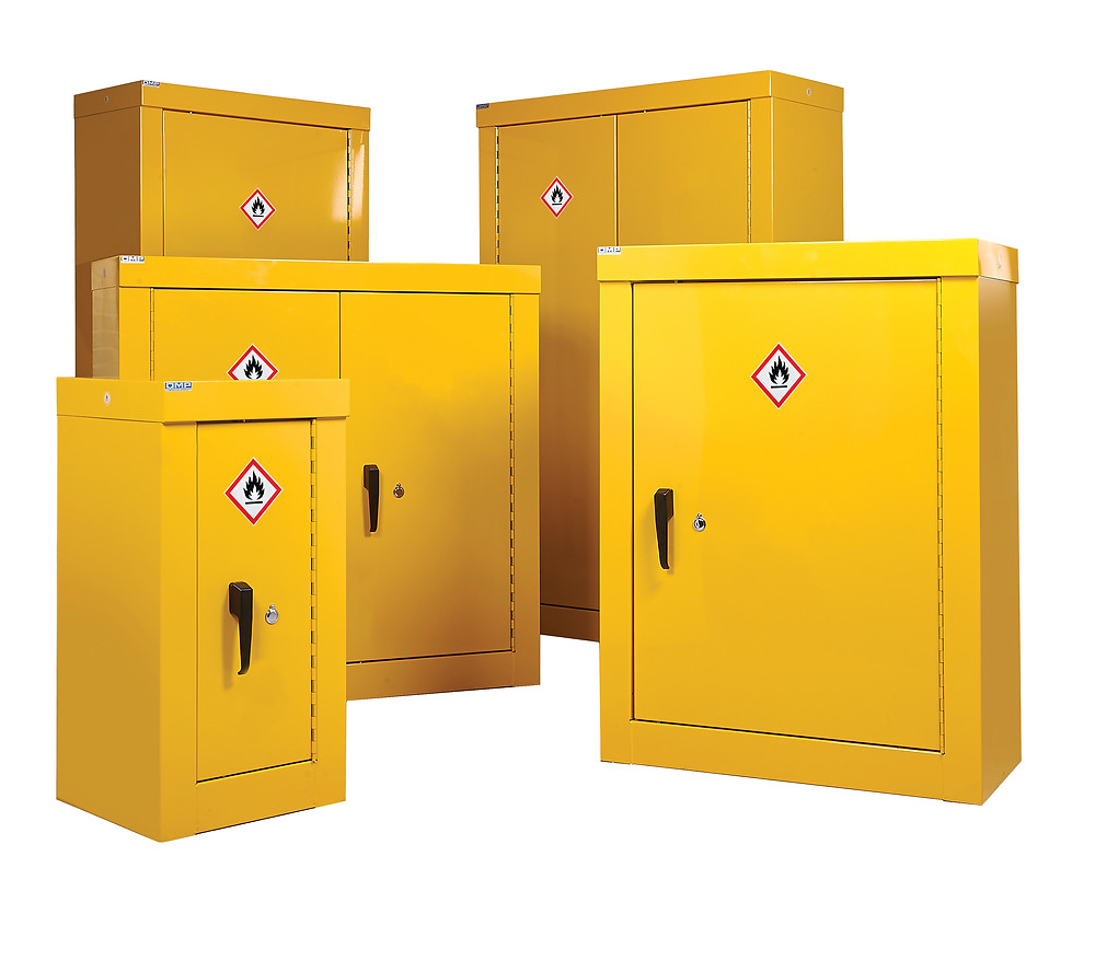 Hazardous substance security cupboard