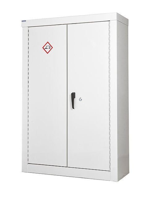 Acid & Alkali Security Cupboard - H1800 x W1200 x D460mm, 3 Shelves