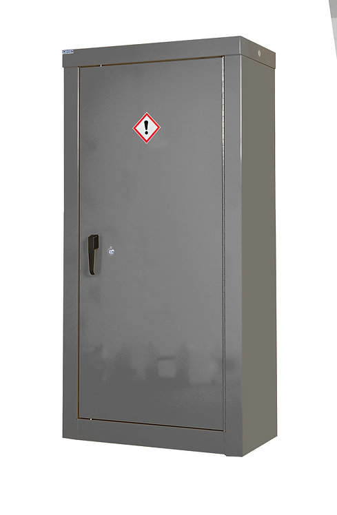 CoSHH Security Cupboard - H1800 x W900 x D460mm, 3 Shelves