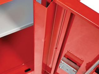 Coshh cabinets – Our security version.