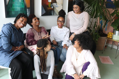 on creating safe spaces for women of color