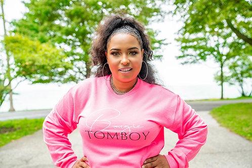 Bougie Tomboy Hot Pink Sweatshirt