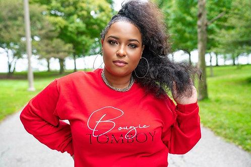Bougie Tomboy Red Sweatshirt