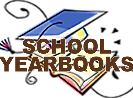Update: Due to the Covid-19 shutdown the delivery of our yearbooks  has been delayed. We had expecte