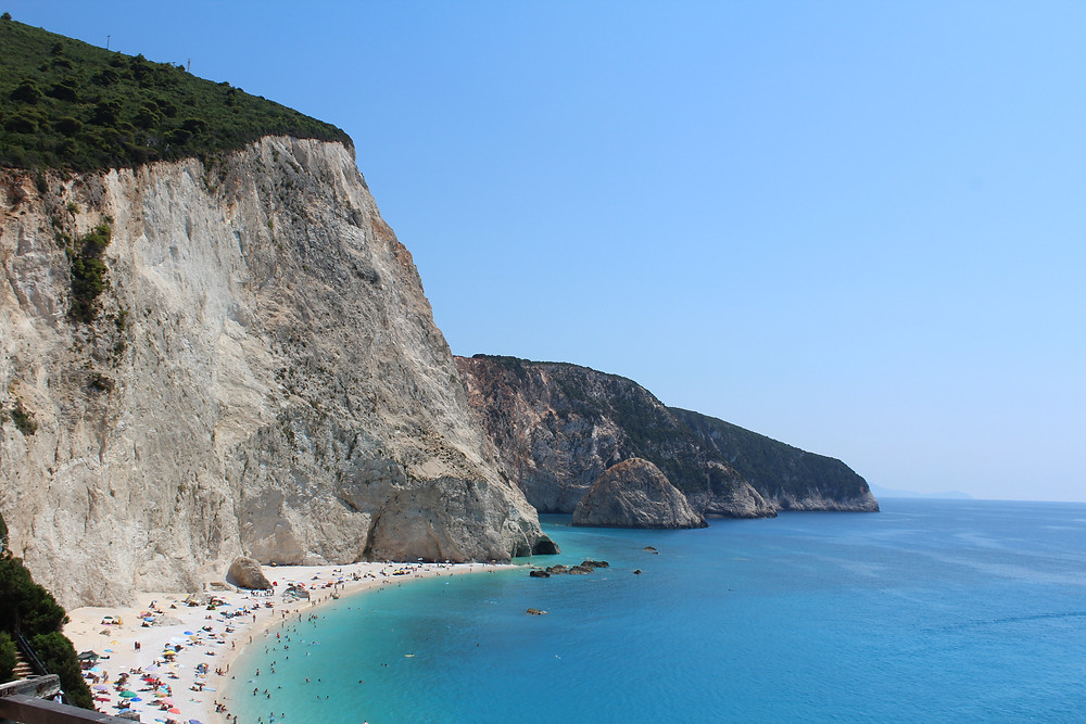Porto Katsiki in Greece, Lefkas island home to some amazing adventure travel - travels and Wandering