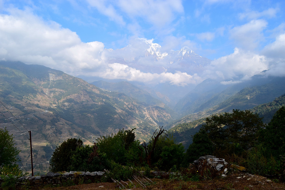 Trekking the Annapurna Valley in the Himilayas, Nepal