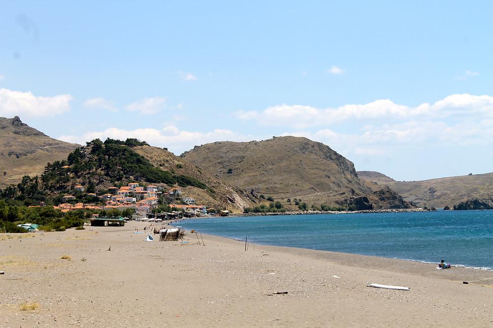Skala Eresou Beach, Lesvos Island