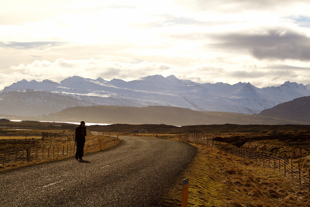 Travel - The Iceland ring road, East Iceland landscape from a road trip