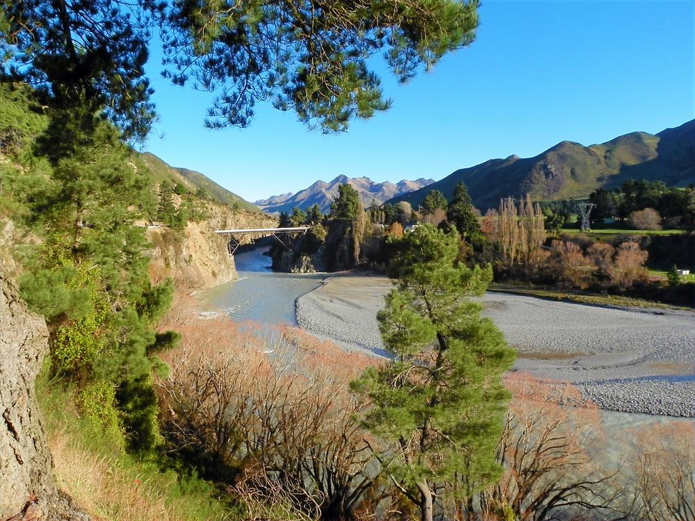 Stunning Scenery in Hanmer Springs, Canterbury, New Zealand