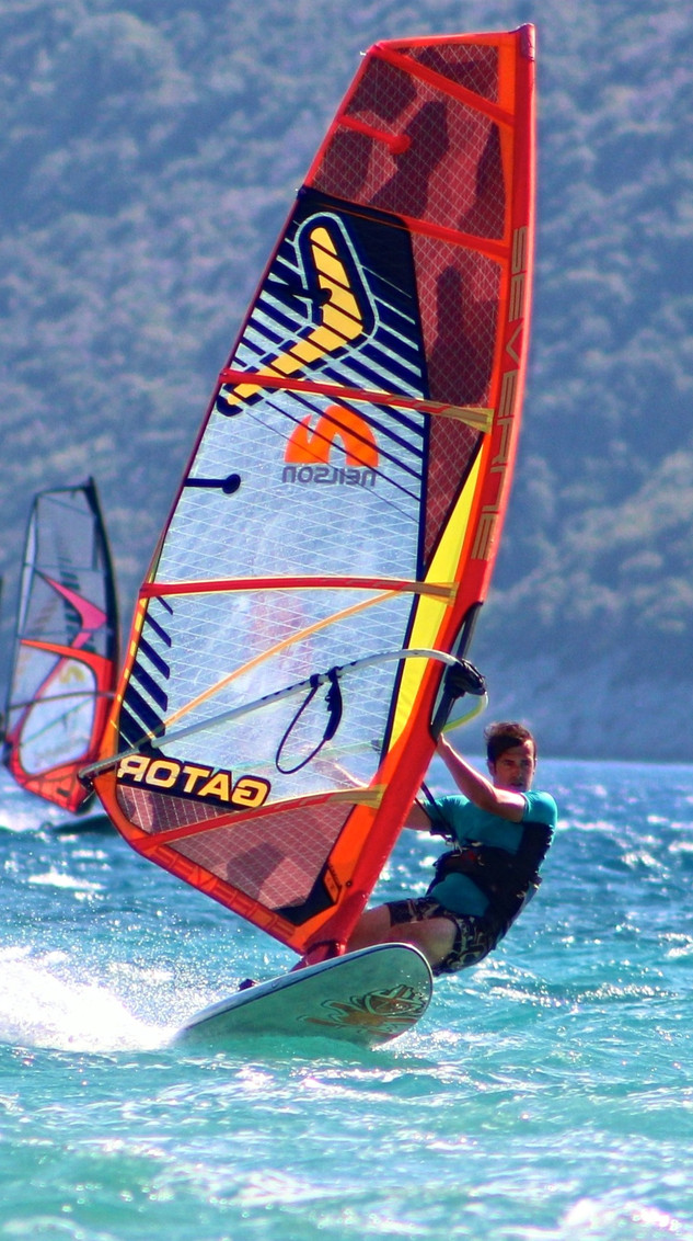Top windsurfing destination in greece