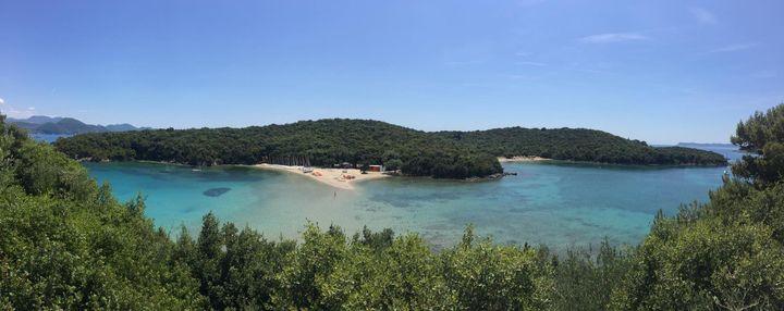 Take a trip from Parga, Greece to Bella Vraka Beach in Sivota