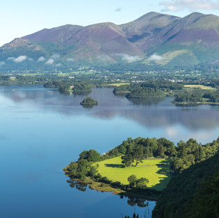 The Lake District Series - Derwent Water and Bassenthwaite