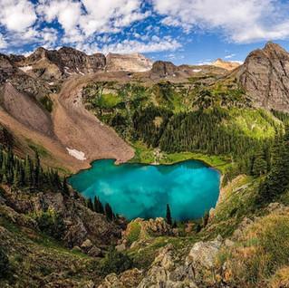 Hiking Blue Lakes Trail of Colorado
