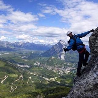 Via Feratta at Mount Norquay, Alberta - Canada