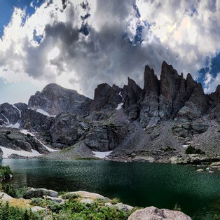 Hiking Sky Pond: Rocky Mountain National Park