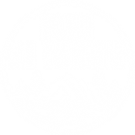 Travels and Wandering white logo
