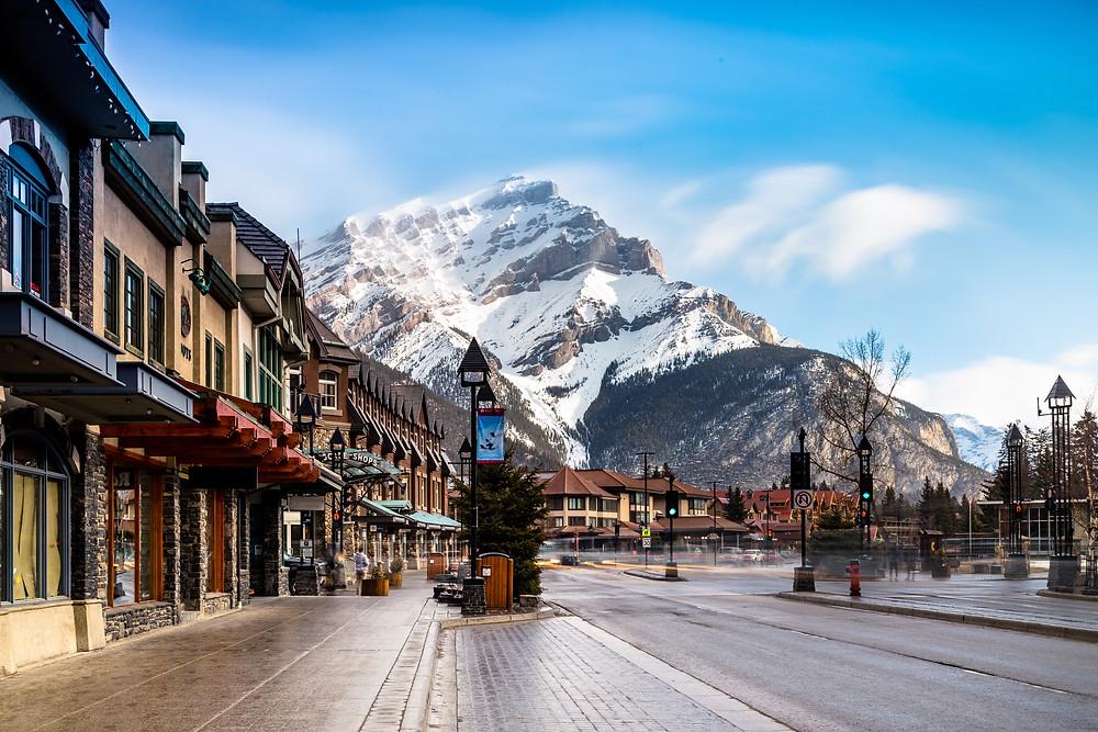 Banff Town, Alberta, Canada