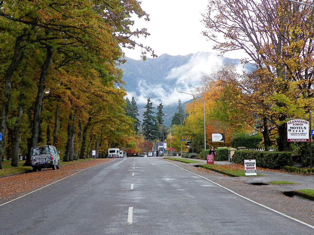 Hanmer Springs in Late Autumn, New Zealand