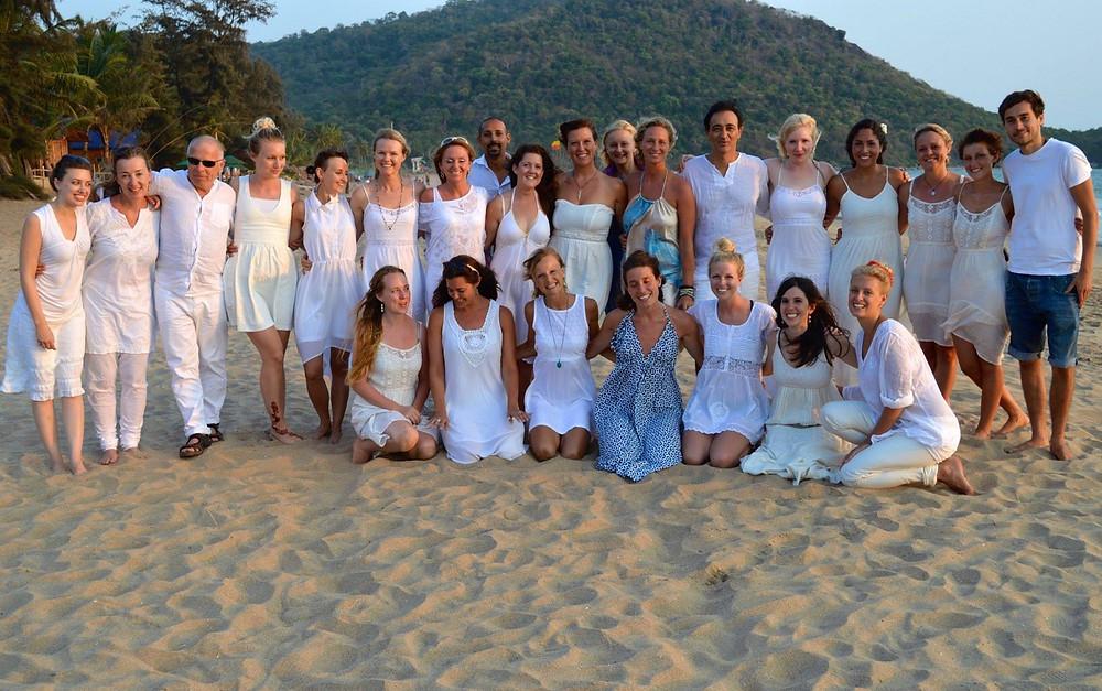 Agonda Beach, Yoga teaching India, India, Asia, Beach