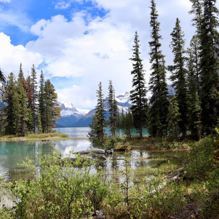 Maligne Lake & Spirit Island - Canada