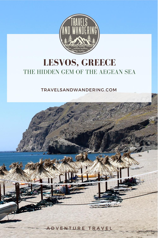Skala Eresos, Lesvos Island, Greece