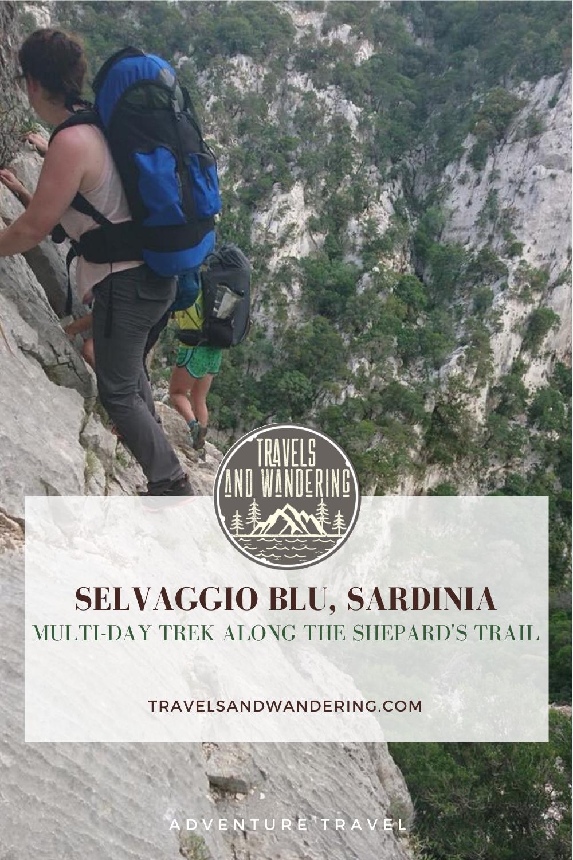 Follow The Goats Trail On The Selvaggio Blu Multi Day Trek in Sardinia