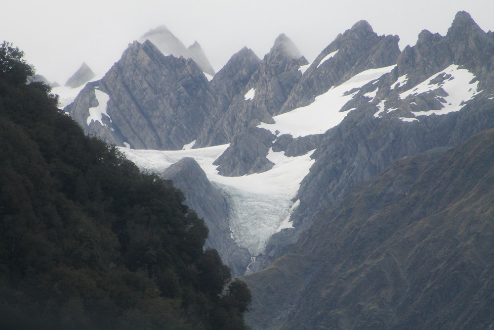 Adventure travel destination New Zealand and the South Island Glaciers.
