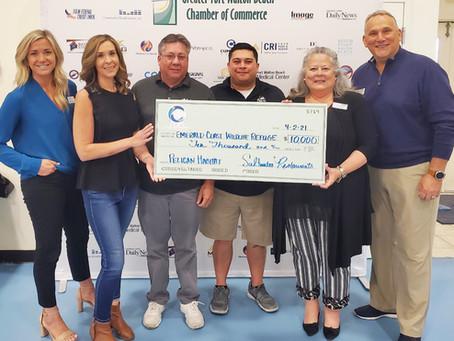 Emerald Coast Wildlife Refuge Receives $10,000 to Support Pelican Rehabilitation Center