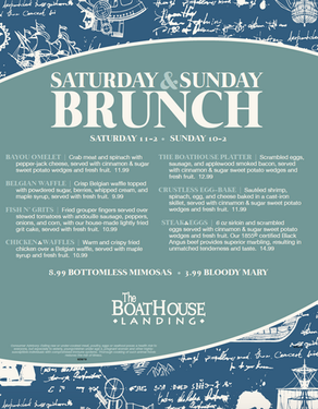 Boathouse Landing Brunch