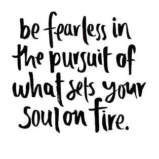 What sets your soul on fire__Comment bel